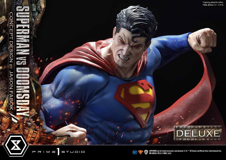 (PO) Prime 1 Studio -Superman VS Doomsday (Deluxe Version)