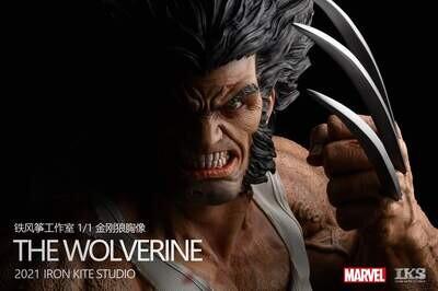(PO) Iron Kite Studios - Wolverine Life-Size Bust