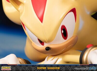(PO) First 4 Figures - Sonic the Hedgehog: Super Shadow