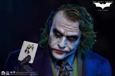 (PO) Infinity Studio - The Dark Knight Joker Life-Size Bust (Heath Ledger)