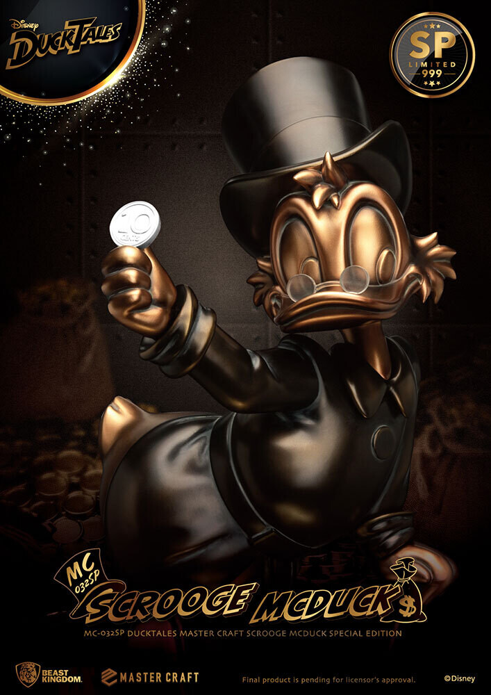 (PO) Beast Kingdom - Scrooge McDuck (Special Edition)
