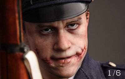 (PO) Queen Studios - Joker Police Uniform (Heath Ledger) - Escala 1/6