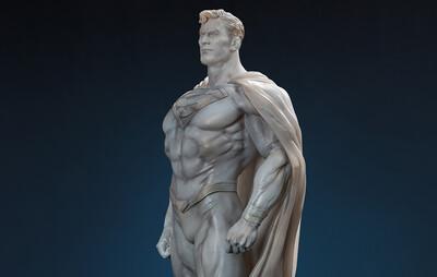 (PO) Queen Studios - Superman Museum Line