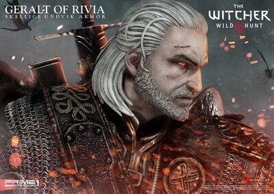 (IN STOCK) Prime 1 - Geralt of Rivia Skellige Undvik Armor (EX version)