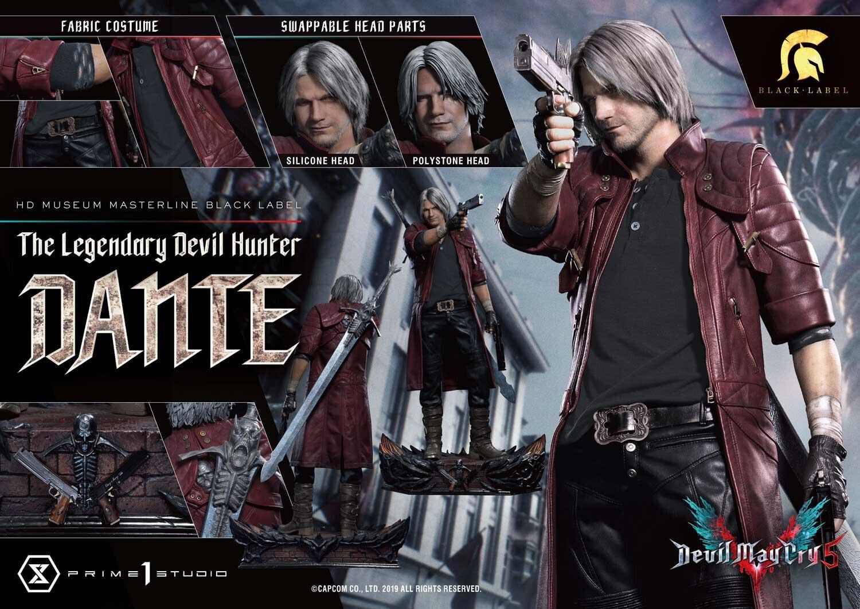 (PO) Prime 1 - Devil May Cry V - Dante (Black Label)