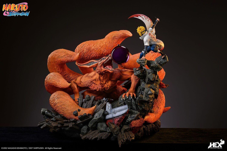(PO) HEX Collectibles - Nine Tails Vs Minato