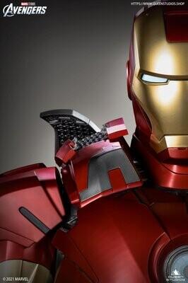 (PO) Queen Studios - Iron Man Mark 7 (Life Size Statue)