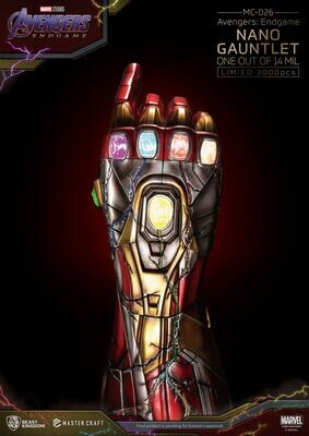 (PO) Beast Kingdom - Avengers Endgame - Master Craft Nano Gauntlet