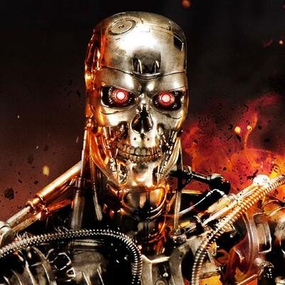 (PO) Prime 1 - The Terminator: T-800 Endoskeleton Half Scale Statue EX