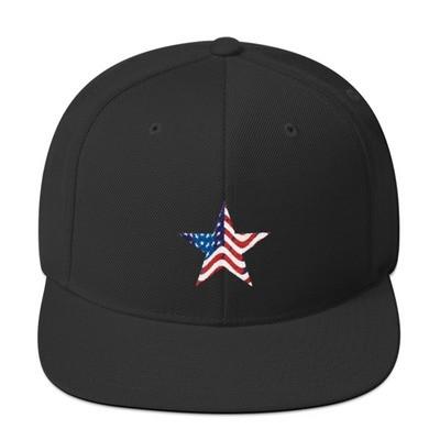 Snapback American Star Hat