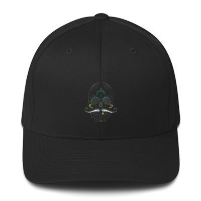 Sugar Skull Structured Twill Cap