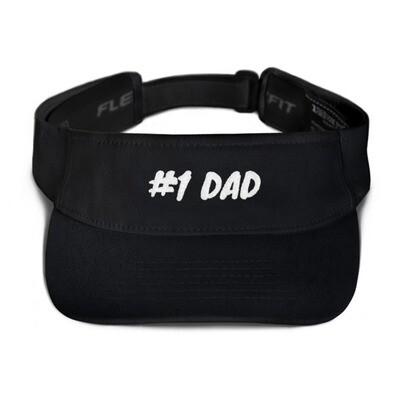 Number 1 dad Visor
