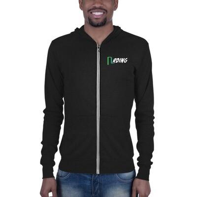 Nrding Unisex zip hoodie