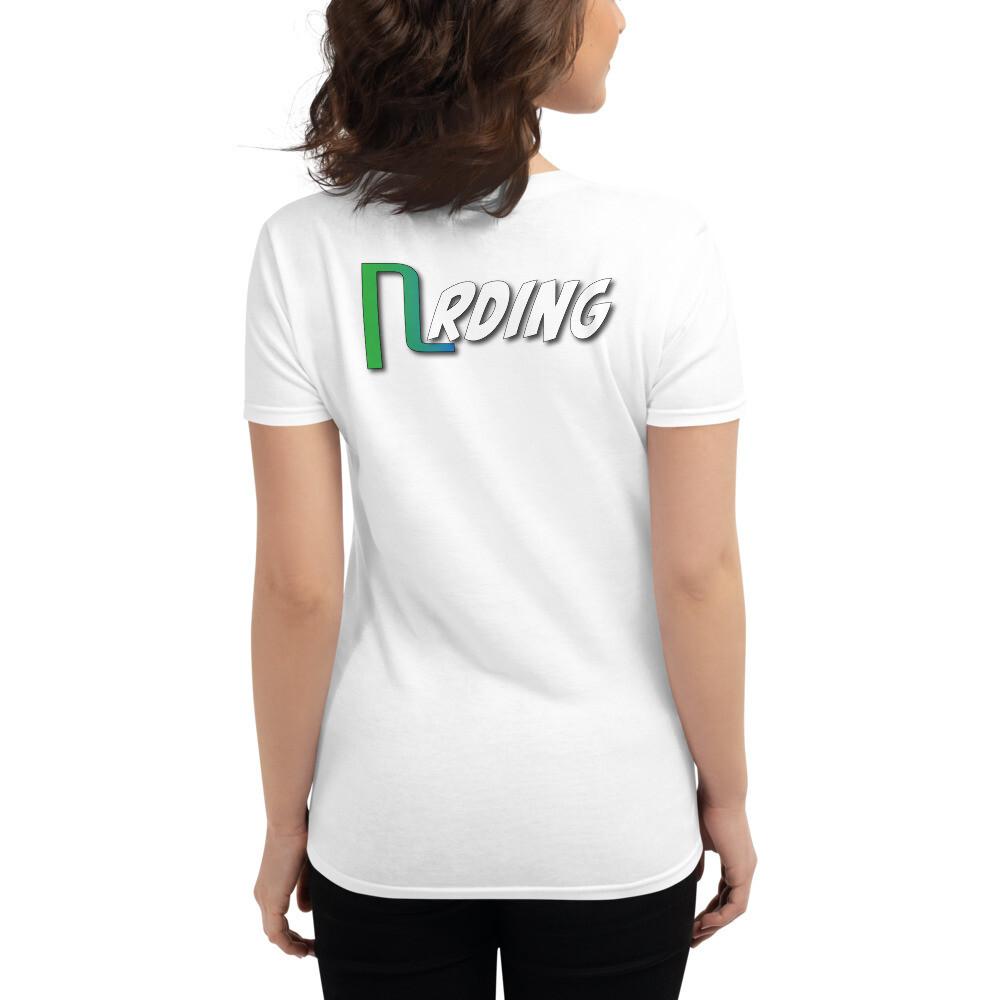 Women's short sleeve Nrding t-shirt