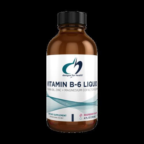Vitamin B6 Liquid 4 fl oz (118 mL) liquid