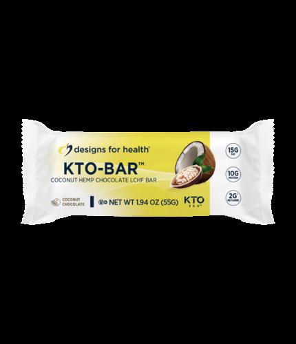 KTO-BAR™ 12 bars Coconut Chocolate