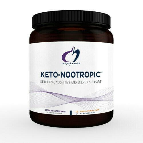 Keto-Nootropic™ 540 g (1.2 lbs) powder Mango-orange