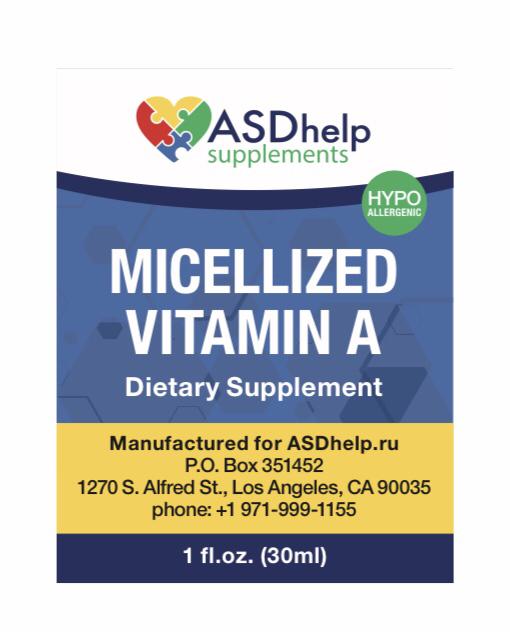 Vitamin A Micellized