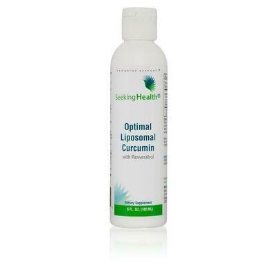 Optimal Liposomal Curcumin with Resveratrol - 30 Servings