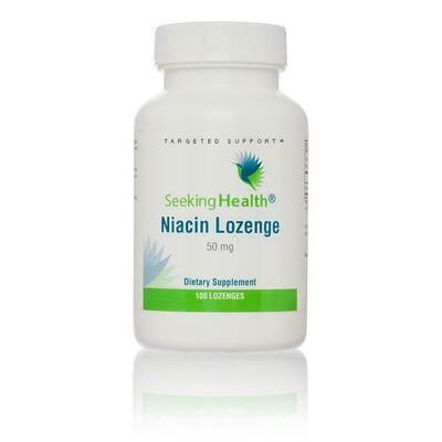Niacin Lozenge - 100 Lozenges