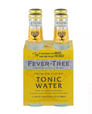 Fever-Tree Indian Tonic 4 Pack