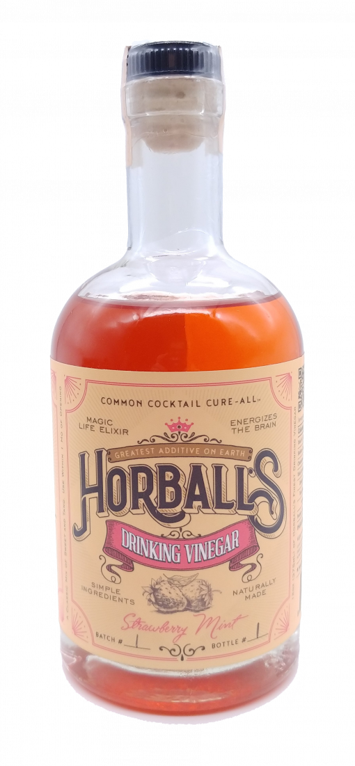 Horball's Strawberry Mint Drinking Vinegar
