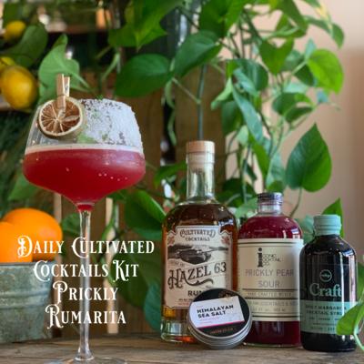 Shipping Rum Cocktail Kit: Prickly Rumarita