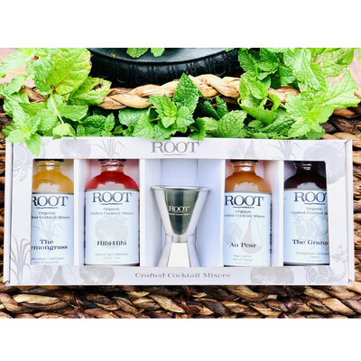 ROOT Crafted Cocktail Mixers - The Cocktail Party Pack