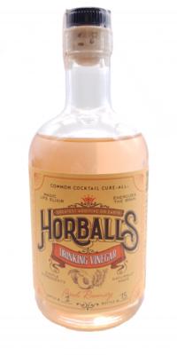 Horball's Peach Rosemary Drinking Vinegar