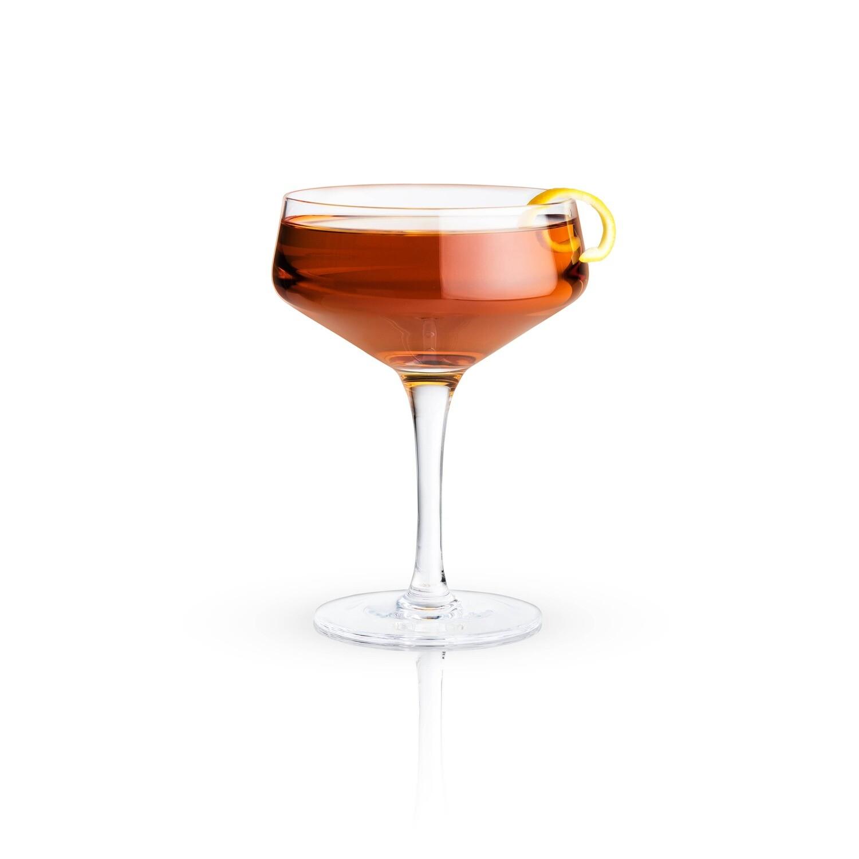 Viski - Raye: 7oz. Crystal Coupe Glass (VISKI)