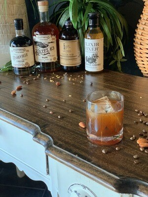 Rum and Coffee Liqueuer Cocktail Kit Almond Brownie