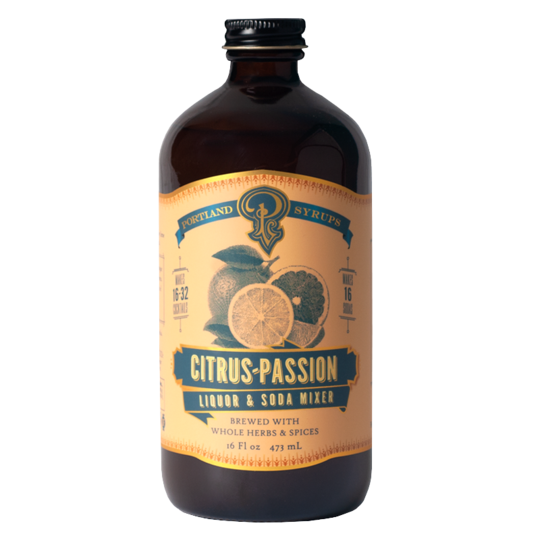 Portland Syrups - Citrus Passion Fruit Syrup