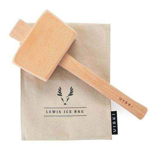Viski - Viski Professional Lewis Ice Bag and Mallet