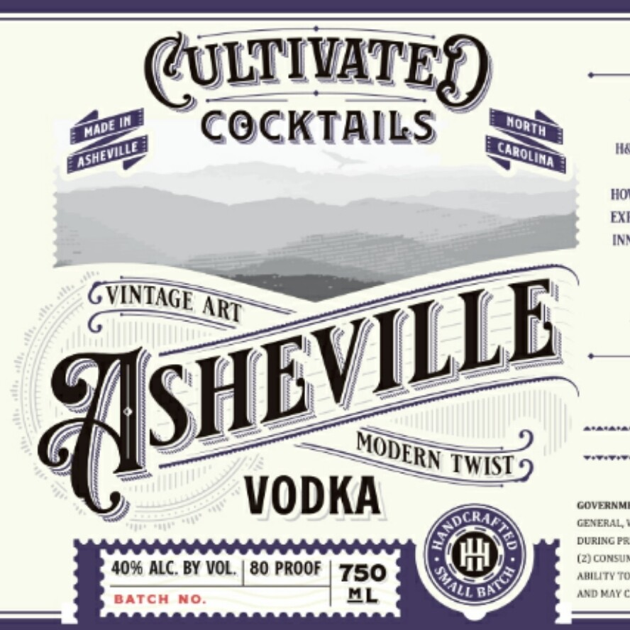 Asheville Vodka
