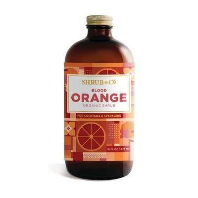 Shrub & Co - Organic Blood Orange Shrub