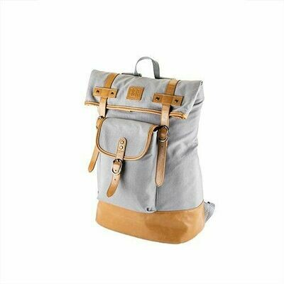 Foster & Rye - Insulated Canvas Cooler Adventure Backpack in Grey