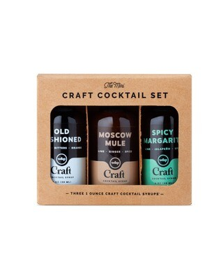 W&P - Mini Cocktail Syrup 3-Pack Set