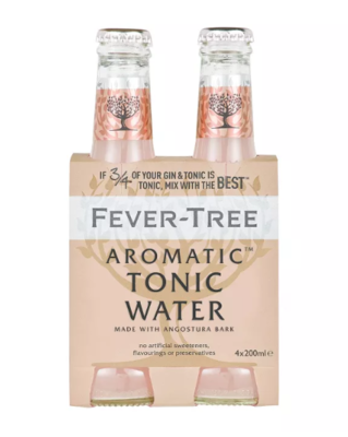 Fever-Tree Aromatic Tonic 4 Pack