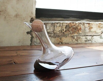 Swoon Living - Tad Whiskey or Wine Decanter