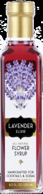 Floral Elixir Co. - Lavender Elixir - All Natural Cocktail & Soda Syrup