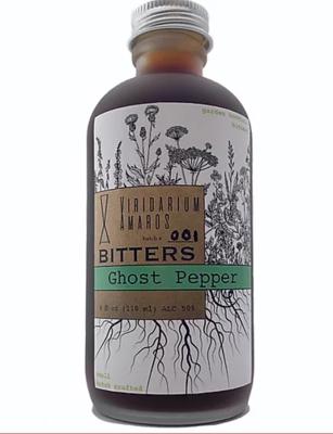 Viridarium Amaros Bitters Ghost Pepper