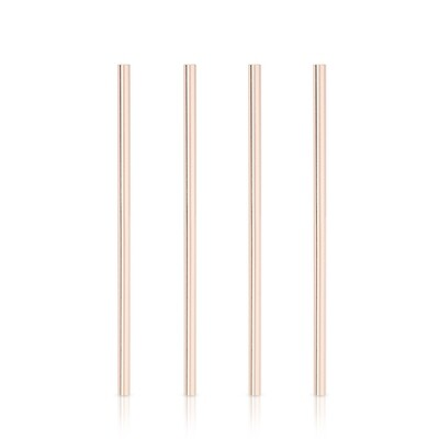 Straw - Wide Copper Plated Cocktail Straw