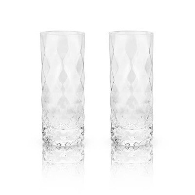 Viski - Raye: Gem Crystal Highball Glasses (VISKI)