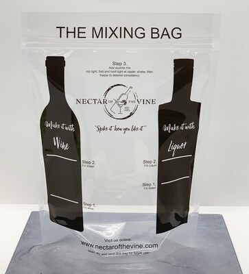 Nectar of the Vine - Reusable Frappe Mixing Bags - 10 pack