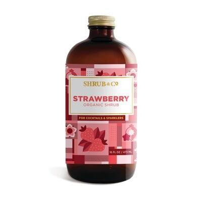 Shrub & Co - Organic Strawberry Shrub