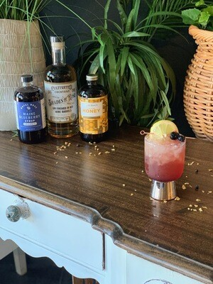 Shades of Rosé Gin Blueberry Yucatan Smash For Shipping