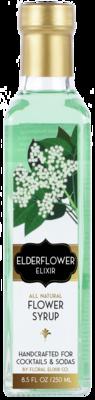 Floral Elixir Co. - Elderflower Elixir - All Natural Cocktail & Soda Syrup