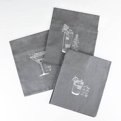 Bar Cart Cocktail Towel Set