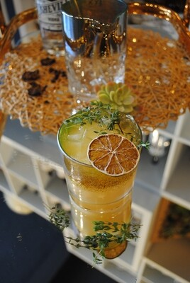 Shipping Asheville Vodka Cocktail Kit: Au the Leaves