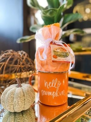 Hello Pumpkin Cocktail Mixer + Mug